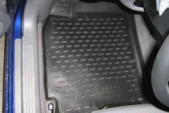 Фото 5 - Коврики в салон для Chevrolet Lacetti '03-12 полиуретановые, серые (Novline)