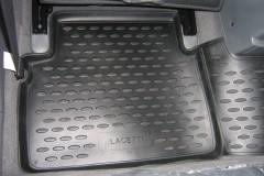 Фото 11 - Коврики в салон для Chevrolet Lacetti '03-12 полиуретановые, серые (Novline)