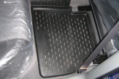Фото 12 - Коврики в салон для Chevrolet Lacetti '03-12 полиуретановые, серые (Novline)