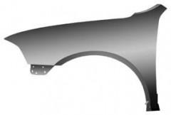 Крыло переднее левое для Skoda Octavia A5 '05-09 (без отв.) (Tempest)