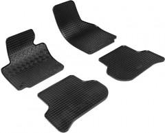 Коврики в салон для Seat Toledo '05-09 резиновые, черные (Rigum)