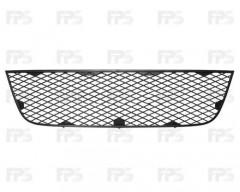 Решетка бампера для Fiat Doblo '05-09 средняя, черная (Tempest)