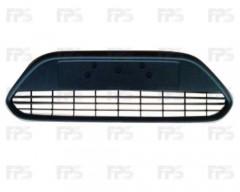 Решетка бампера для Ford Focus II '08-11 средняя с черной рамкой (Tempest)
