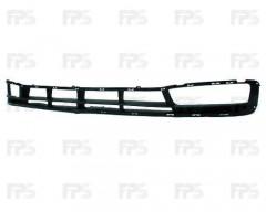 Решетка бампера для Hyundai Accent '06-10 под ПТФ (Tempest)