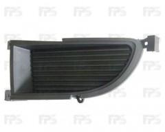 Решетка бампера для Mitsubishi Lancer 9 '06-09 без ПТФ, правая (нижняя) (Tempest)