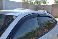 Дефлекторы окон для Hyundai Elantra HD '06-10 (Cobra)