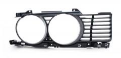 Решетка радиатора для BMW 5 E34 '88-93 правая, оправа (Tempest)