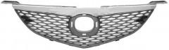 Решетка радиатора для Mazda 3 '06-09 Седан, накладка хром (Tempest)