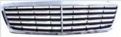 Решетка радиатора для Mercedes C-Class W203 '00-07 (Avantgarde/Elegance) комплект (Tempest)