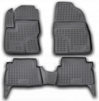 Коврики в салон для Ford C-Max '03-10 полиуретановые, черные (Novline / Element)
