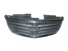 Решетка радиатора для Nissan Almera Classic 06- черная с хром рамкой (Tempest)