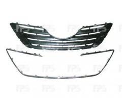 Решетка радиатора для Toyota Camry V40 '06-10 хром/черная (Tempest)