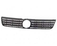 Решетка радиатора для Volkswagen Passat B5 '97-00 черная, без хром накладок (Tempest)