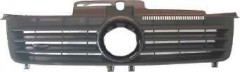 Решетка радиатора для Volkswagen Polo '02-05 черная (Tempest)