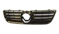 Решетка радиатора для Volkswagen Polo '05-09 черная (Tempest)
