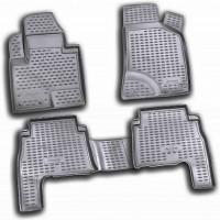 Коврики в салон для Hyundai Santa Fe '10-12 CM полиуретановые (Novline / Element)