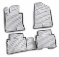 Коврики в салон для Hyundai Sonata '10-15 полиуретановые (Novline / Element)