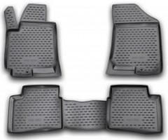 Коврики в салон для Kia Pro Ceed '08-12, 3дв. полиуретановые (Novline / Element)