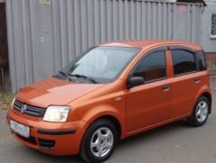 Дефлекторы окон для Fiat Panda '03-12 (Cobra)
