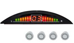 Парктроник Falkon 2616 с датчиками серебристого цвета (4 датчика)