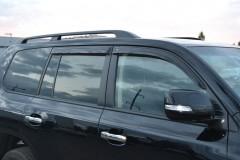 Дефлекторы окон для Toyota Land Cruiser 200 '07-, 4шт. (Cobra)