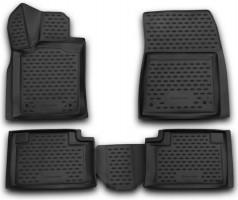 Полиуретановые коврики в салон для Jeep Grand Cherokee '11- (Novline / Element) 3D