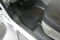 Передние коврики в салон для Renault Kangoo '09- (Novline / Element) полиуретановые