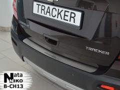 NataNiko Накладка на бампер для Chevrolet Tracker '13- (Premium)