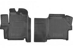 Коврики в салон для Citroen Jumper '06- резиновые, черные (AVTO-Gumm)