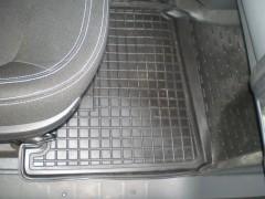 Фото 4 - Коврики в салон для Fiat Scudo '07-16, 2.0 резиновые, черные (AVTO-Gumm)