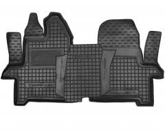 Коврики в салон для Ford Transit '13- резиновые, черные (AVTO-Gumm) 1+2