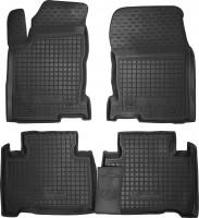 Коврики в салон для Lexus NX '14- резиновые, черные (AVTO-Gumm)
