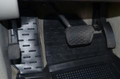 Фото 6 - Коврики в салон для Mercedes ML-Class W164 '05-11 резиновые, черные (AVTO-Gumm)