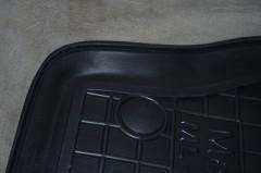 Фото 13 - Коврики в салон для Mercedes ML-Class W164 '05-11 резиновые, черные (AVTO-Gumm)