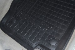 Фото 14 - Коврики в салон для Mercedes ML-Class W164 '05-11 резиновые, черные (AVTO-Gumm)