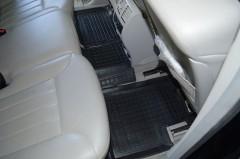 Фото 15 - Коврики в салон для Mercedes ML-Class W164 '05-11 резиновые, черные (AVTO-Gumm)