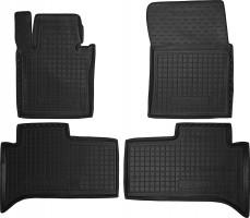 Коврики в салон для Land Rover Range Rover '02-12 резиновые, черные (AVTO-Gumm)
