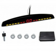 Парктроник Parkcity Rio с датчиками серебристого цвета (4 датчика)