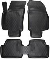 Коврики в салон для Opel Astra G '98-10 полиуретановые, черные (L.Locker)