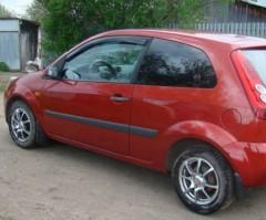 Дефлекторы окон для Ford Fiesta '02-09, хетчбек, 3дв. (Cobra)