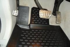 Фото 3 - Коврики в салон для Mercedes ML-Class W164 '05-11 полиуретановые, черные (Novline)