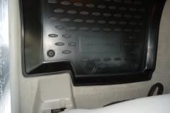 Фото 4 - Коврики в салон для Mercedes ML-Class W164 '05-11 полиуретановые, черные (Novline)