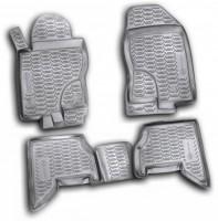 Коврики в салон для Nissan Pathfinder '05-14 полиуретановые, черные (Novline / Element) EXP.999RMR51MC