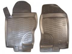 Фото 6 - Коврики в салон для Nissan Pathfinder '05-14 полиуретановые, черные (Novline) EXP.999RMR51MC