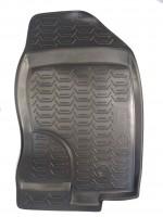 Фото 8 - Коврики в салон для Nissan Pathfinder '05-14 полиуретановые, черные (Novline) EXP.999RMR51MC