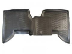 Фото 10 - Коврики в салон для Nissan Pathfinder '05-14 полиуретановые, черные (Novline) EXP.999RMR51MC