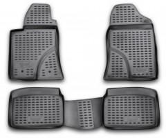 Коврики в салон для Toyota Avensis '03-08 полиуретановые (Novline / Element)