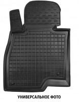 Коврик в салон водительский для BYD G6 '11- резиновый, черный (AVTO-Gumm)