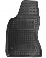 Коврик в салон водительский для Audi A6 '97-05 резиновый, черный (AVTO-Gumm)