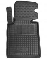Коврик в салон водительский для BMW 3 E46 '98-06 резиновый, черный (AVTO-Gumm)